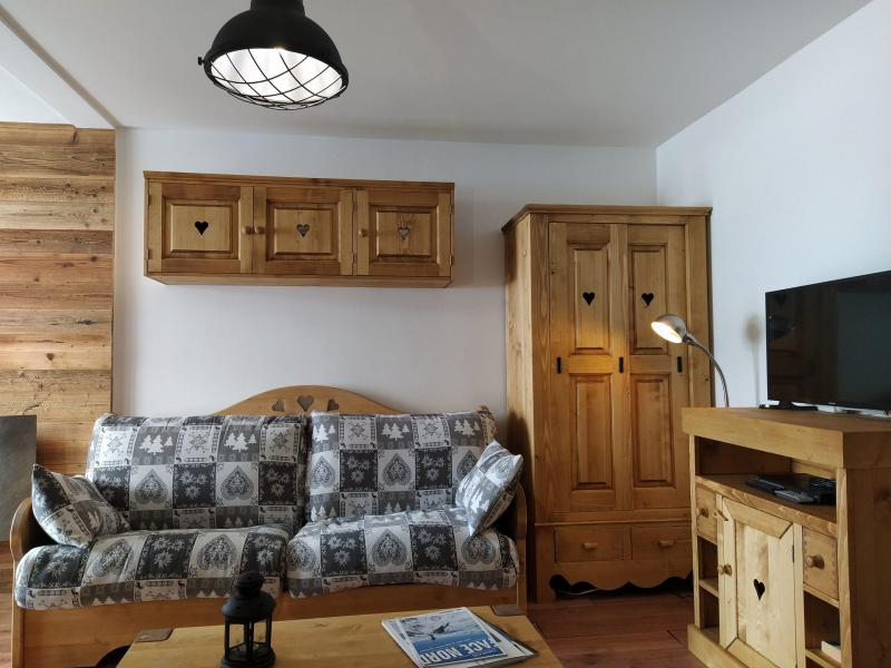 Vacances en montagne Appartement 2 pièces 4 personnes (509) - Résidence l'Eskival - Val Thorens - Banquette-lit