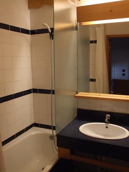 Vacances en montagne Appartement 2 pièces 4 personnes (511) - Résidence l'Eskival - Val Thorens - Lavabo
