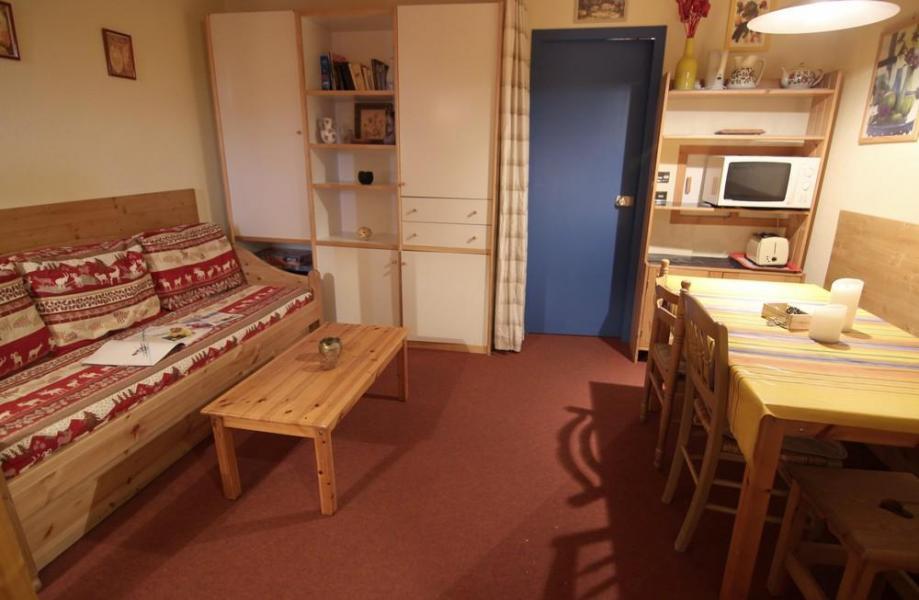 Vacances en montagne Appartement 2 pièces 4 personnes (513) - Résidence l'Eskival - Val Thorens - Séjour