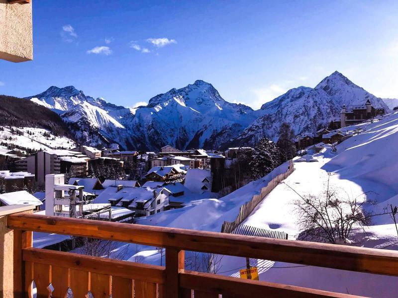 Wakacje w górach Studio z alkową 4 osoby (191) - Résidence l'Etendard - Les 2 Alpes
