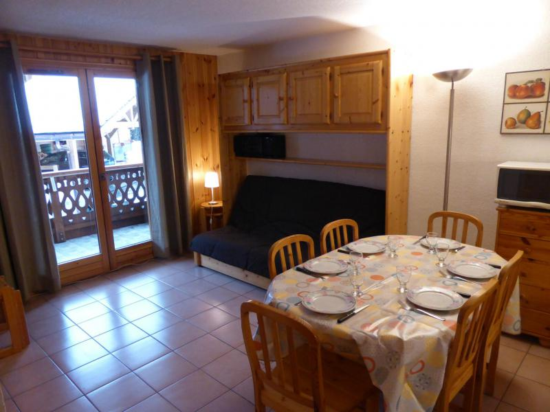 Holiday in mountain resort 2 room apartment cabin 6 people (ETA7) - Résidence l'Eterlou - Les Contamines-Montjoie