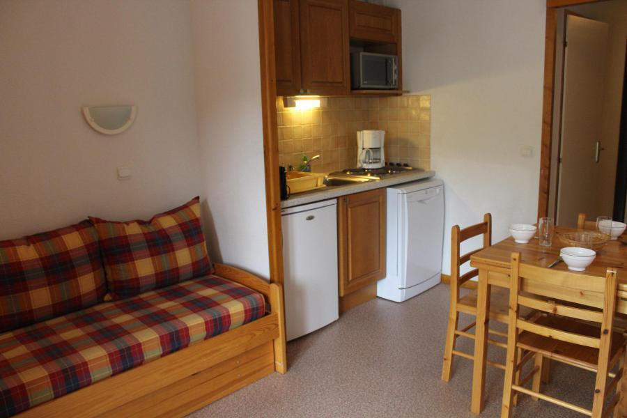 Vacaciones en montaña Apartamento cabina para 4 personas (203) - Résidence l'Horizon Blanc - La Joue du Loup