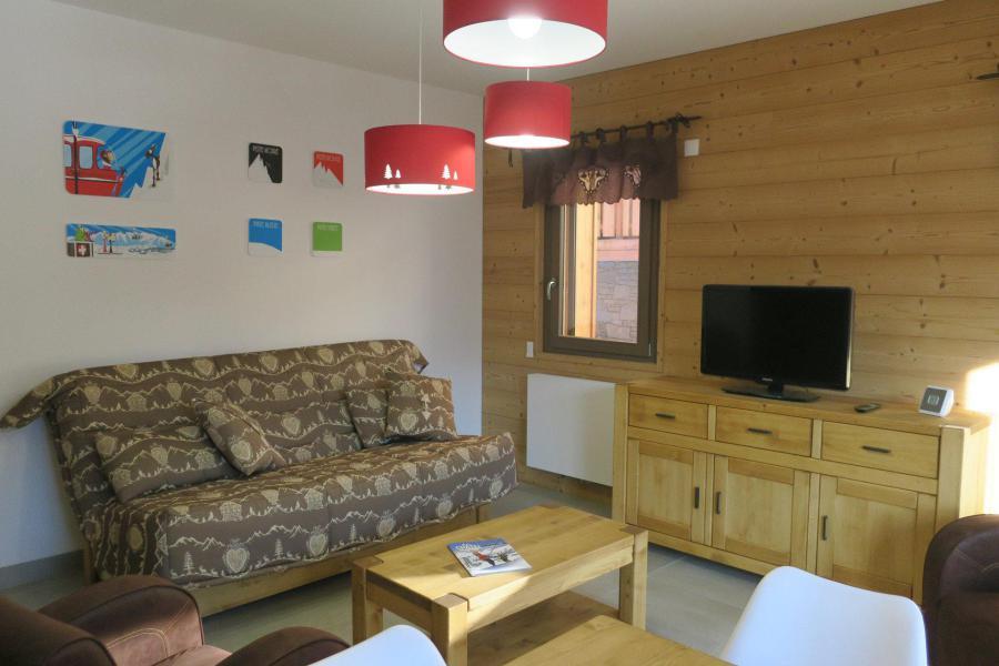 Wakacje w górach Apartament 3 pokojowy 6 osób (B201) - Résidence l'O Rouge - Châtel