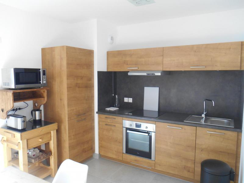 Wakacje w górach Apartament 3 pokojowy 6 osób (B201) - Résidence l'O Rouge - Châtel - Aneks kuchenny