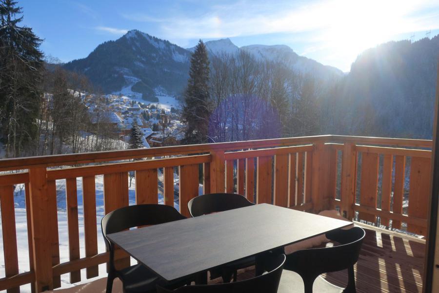 Wakacje w górach Apartament 3 pokojowy 6 osób (B201) - Résidence l'O Rouge - Châtel - Pokój gościnny