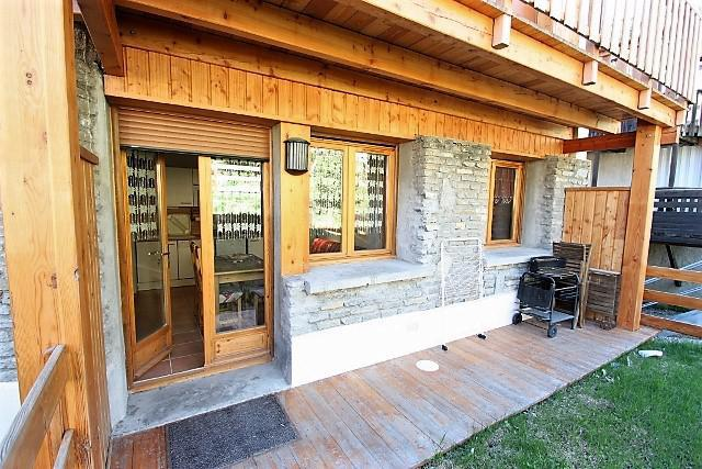 Wakacje w górach Apartament 2 pokojowy z alkową 6 osób (304) - Résidence l'Olympic - Pra Loup - Na zewnątrz latem
