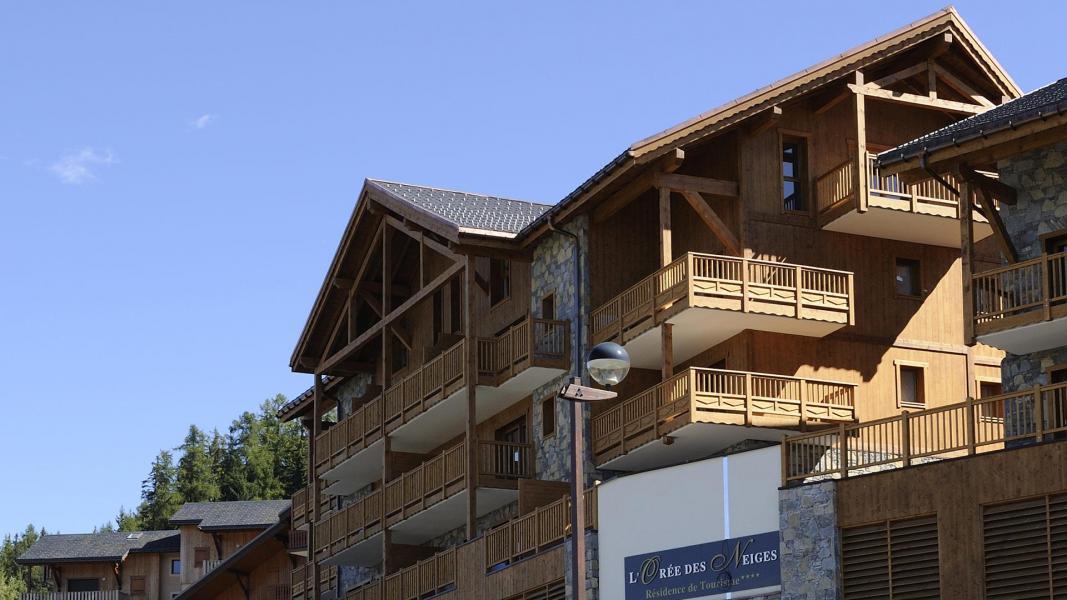 Urlaub in den Bergen Résidence l'Orée des Neiges - Peisey-Vallandry - Draußen im Sommer