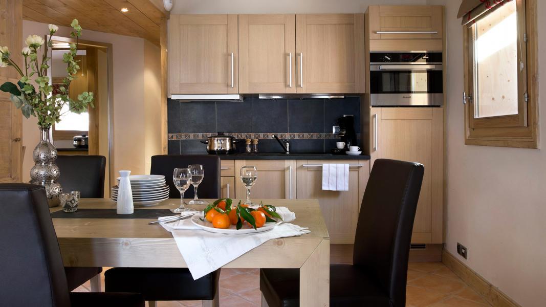 Urlaub in den Bergen Résidence l'Orée des Neiges - Peisey-Vallandry - Küche