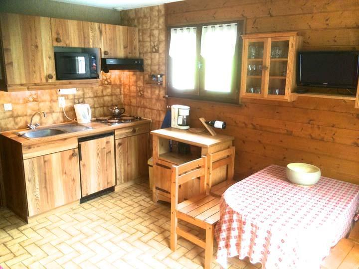Vacaciones en montaña Apartamento cabina 2 piezas para 5 personas - Résidence l'Orée des Pistes - Châtel