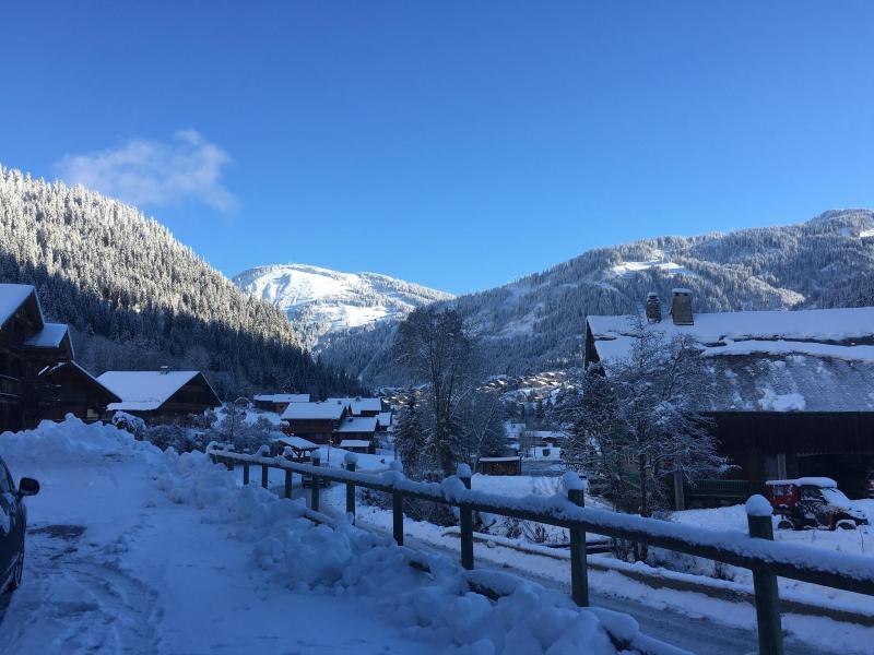 Vacaciones en montaña Apartamento 2 piezas para 4 personas - Résidence l'Orée des Pistes - Châtel