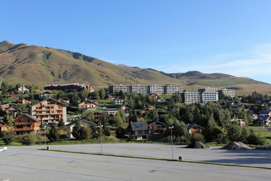 Location au ski Résidence l'Orée des Pistes - La Toussuire - Extérieur été