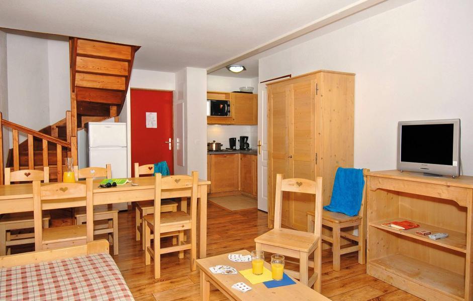 Urlaub in den Bergen Résidence l'Orée des Pistes - Saint Sorlin d'Arves - Wohnzimmer