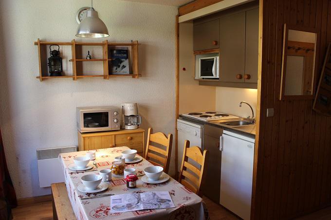 Vacances en montagne Studio cabine 4 personnes (10) - Résidence l'Orsière - Val Thorens - Logement