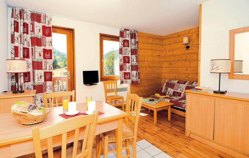 Vacances en montagne Résidence l'Ouillon - Saint Sorlin d'Arves - Coin repas