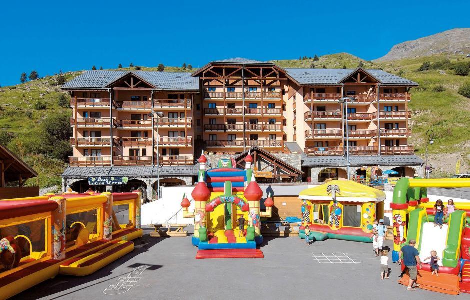 Location au ski Résidence l'Ours Blanc - Valmeinier - Extérieur été