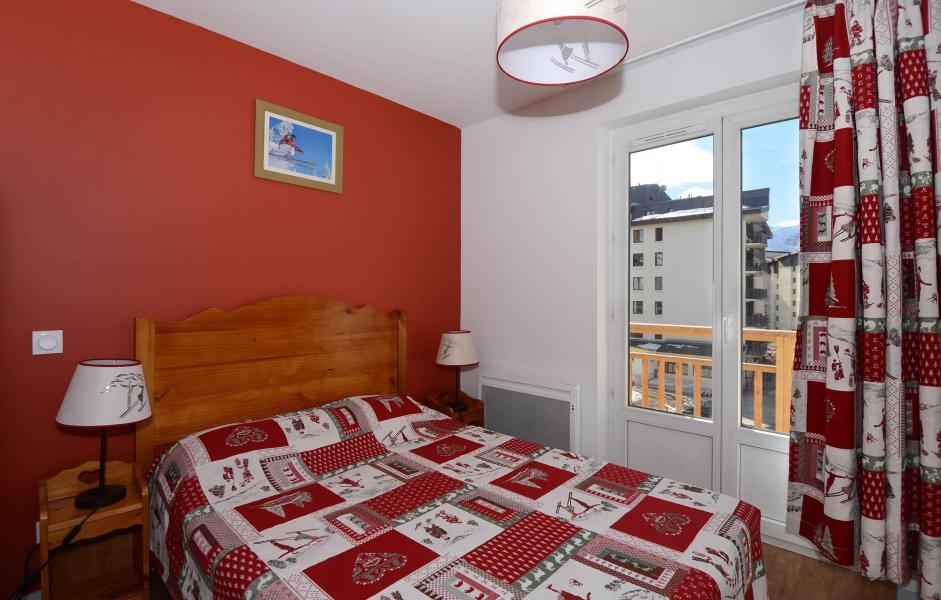 Urlaub in den Bergen Résidence l'Ours Blanc - Les 2 Alpes - Doppelbett