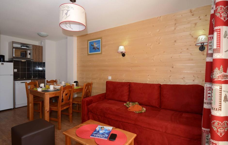 Urlaub in den Bergen Résidence l'Ours Blanc - Les 2 Alpes - Sofa