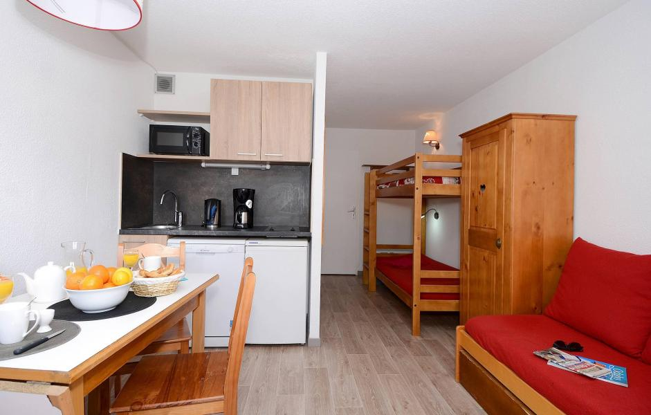 Urlaub in den Bergen Résidence l'Ours Blanc - Les 2 Alpes - Wohnzimmer