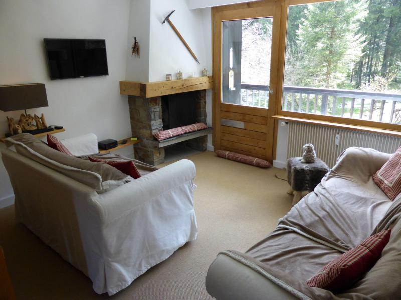 Wakacje w górach Apartament 2 pokojowy z alkową 6 osób - Résidence la Biaule - Les Contamines-Montjoie