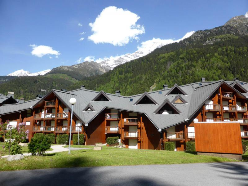 Urlaub in den Bergen Résidence la Borgia - Les Contamines-Montjoie - Draußen im Sommer