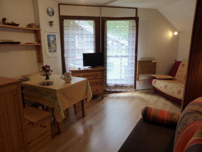 Urlaub in den Bergen Studio Kabine für 4 Personen (B66) - Résidence la Borgia - Les Contamines-Montjoie
