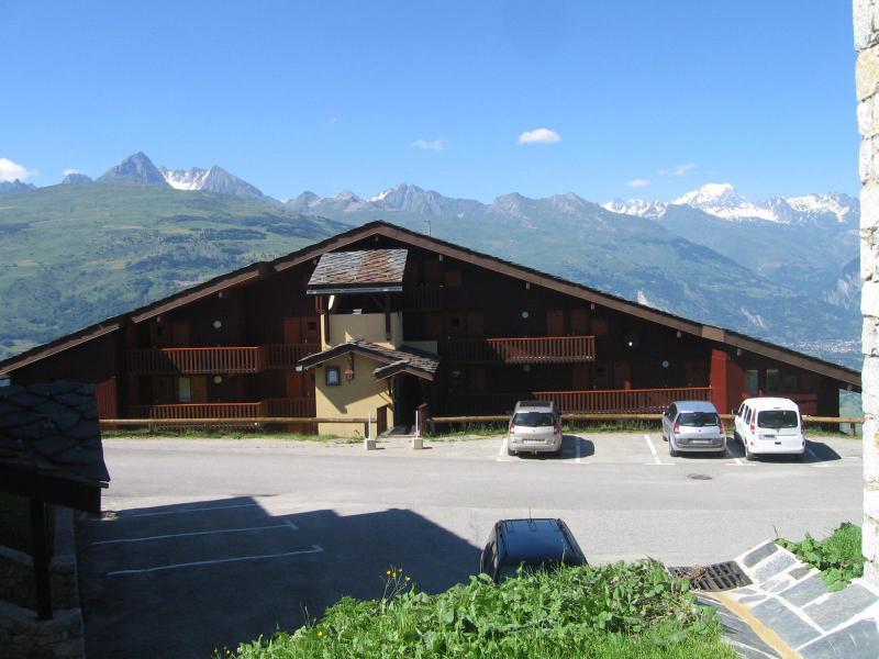 Location au ski Studio 2 personnes (001) - Résidence la Boussole - Montchavin La Plagne - Extérieur été