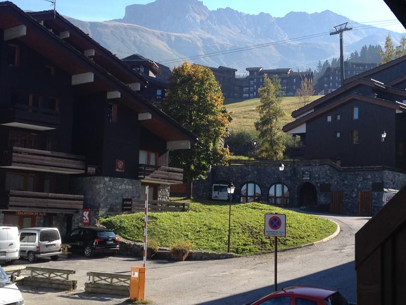 Location au ski Studio 4 personnes (005) - Résidence la Buche - Valmorel - Extérieur été