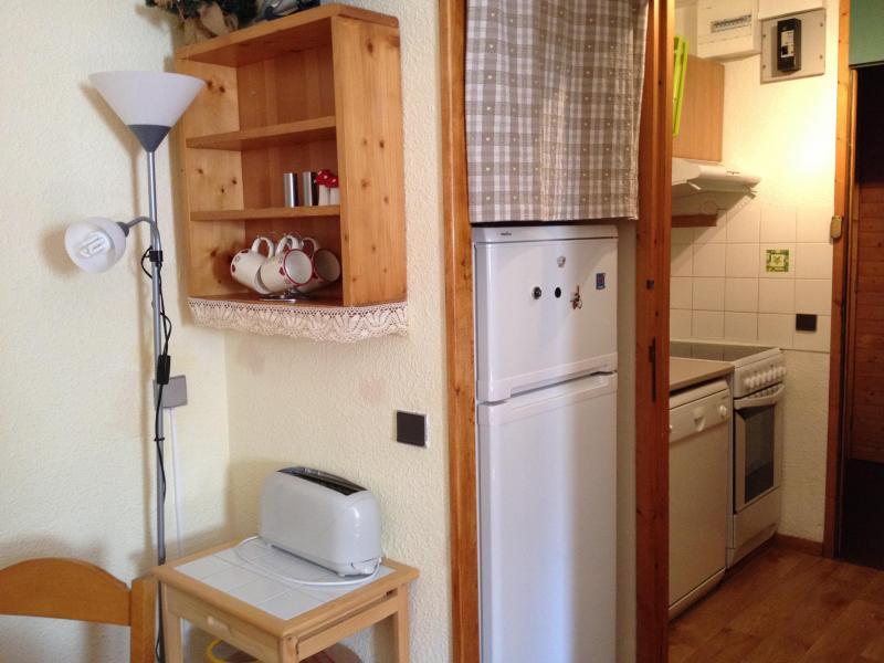 Vacances en montagne Studio 4 personnes (005) - Résidence la Buche - Valmorel - Kitchenette