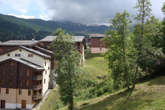 Vacaciones en montaña Résidence la Camarine - Valmorel - Verano