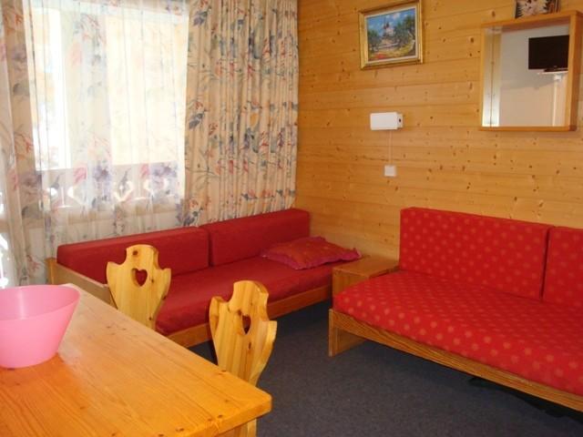 Vacances en montagne Appartement 2 pièces 4 personnes (07T) - Résidence la Camarine - Valmorel - Banquette