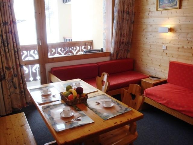 Vacances en montagne Appartement 2 pièces 4 personnes (07T) - Résidence la Camarine - Valmorel - Séjour