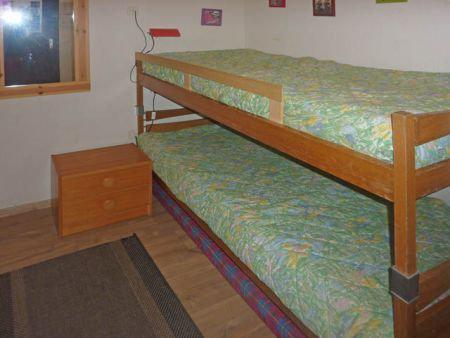 Holiday in mountain resort 2 room apartment 6 people (450) - Résidence la Chamoisière - Les Orres - Bunk beds