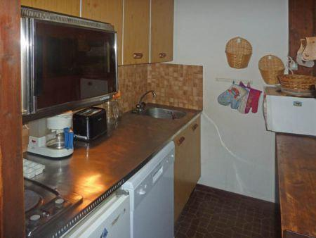 Holiday in mountain resort 2 room apartment 6 people (450) - Résidence la Chamoisière - Les Orres - Oven