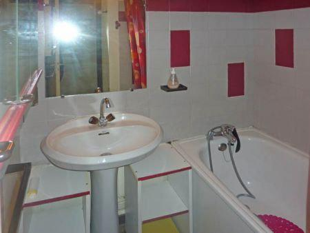 Holiday in mountain resort 2 room apartment 6 people (450) - Résidence la Chamoisière - Les Orres - Wash-hand basin