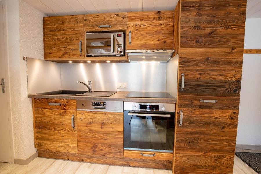 Wakacje w górach Apartament 3 pokojowy z antresolą 10 osób (CH02C) - Résidence la Chapelle - La Norma - Kuchnia