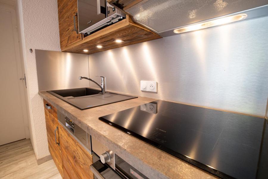 Wakacje w górach Apartament 3 pokojowy z antresolą 10 osób (CH02C) - Résidence la Chapelle - La Norma - Płytami grzewczymi