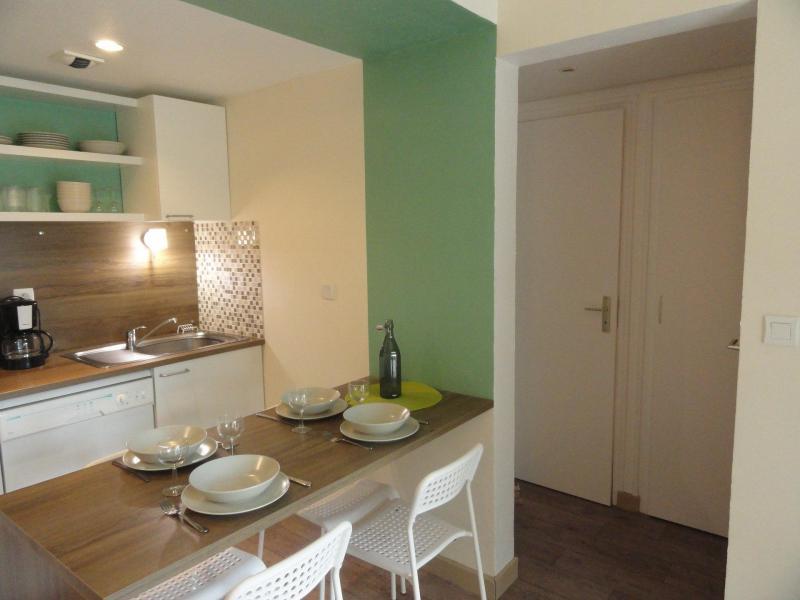 Vacaciones en montaña Apartamento 2 piezas para 4 personas (CH19C) - Résidence la Chapelle - La Norma - Mesa