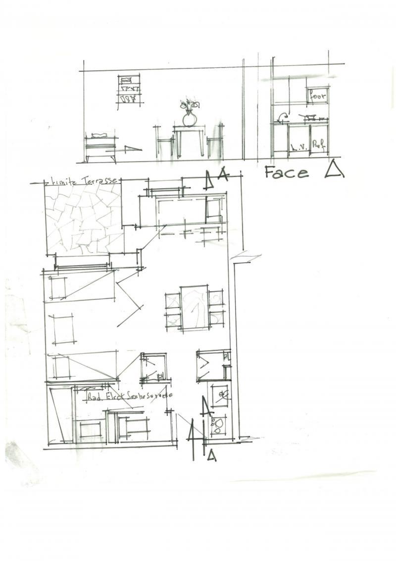 Vacances en montagne Studio 4 personnes (033) - Résidence la Clé - Montchavin La Plagne - Plan