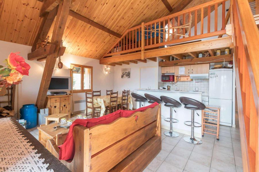 Vacances en montagne Appartement 4 pièces mezzanine 12 personnes - Résidence la Clé des Champs - Serre Chevalier - Séjour