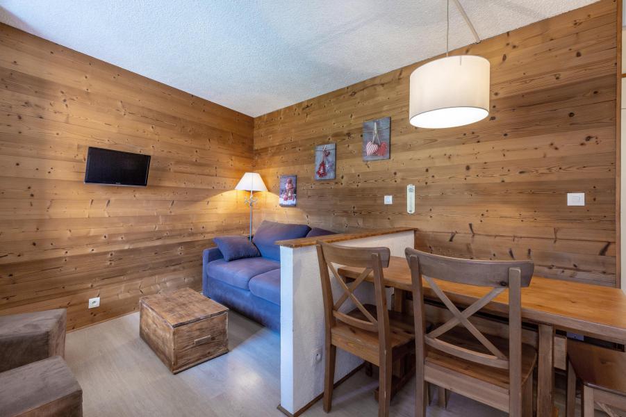 Vacances en montagne Studio cabine 5 personnes (039) - Résidence la Clé - Montchavin La Plagne - Séjour