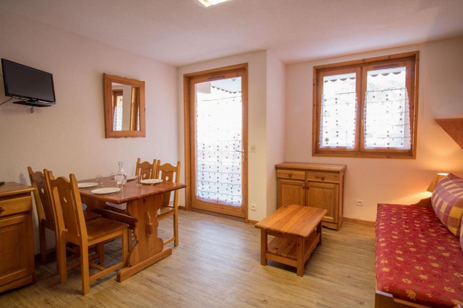 Vakantie in de bergen Appartement 2 kamers 4 personen (206) - Résidence la Combe - Aussois - Eetkamer