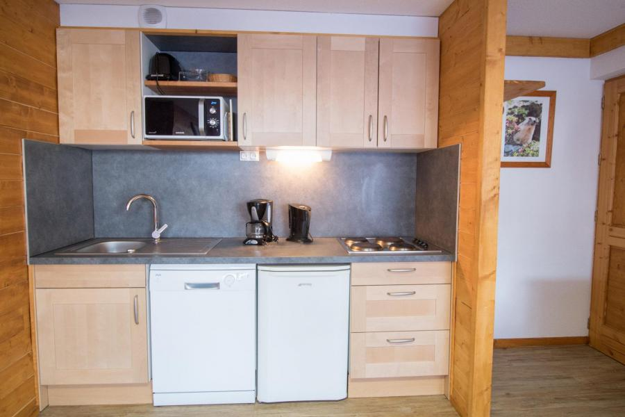 Vakantie in de bergen Appartement 2 kamers 4 personen (206) - Résidence la Combe - Aussois - Keuken