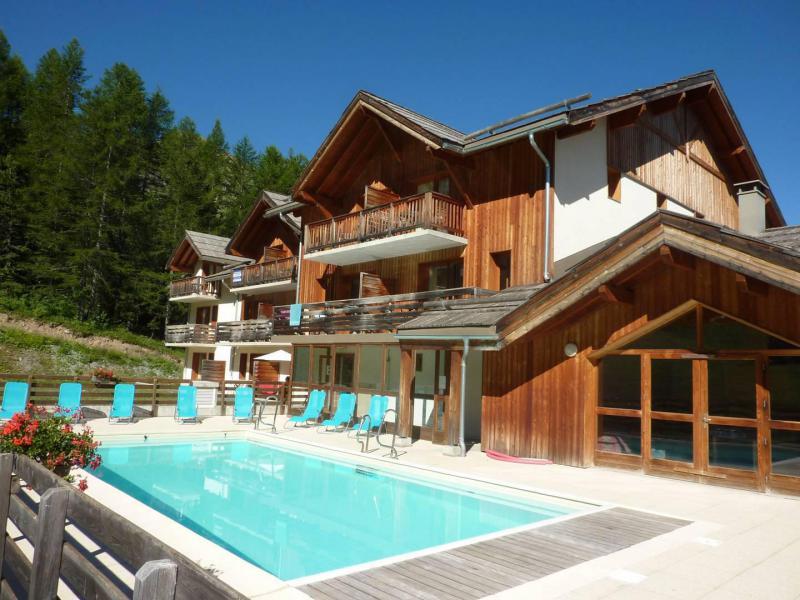 Location au ski Résidence la Combe d'Or - Les Orres - Extérieur été
