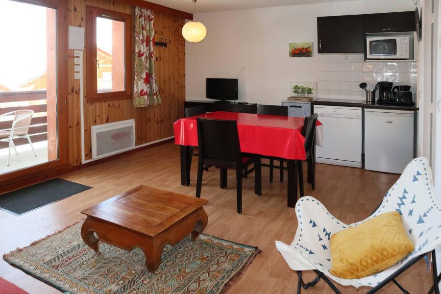 Vacances en montagne Appartement 2 pièces 4 personnes (1001) - Résidence la Combe d'Or - Les Orres - Coin repas