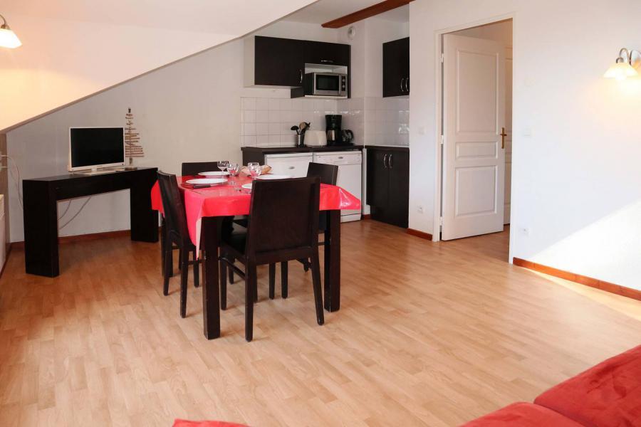 Vacances en montagne Appartement 2 pièces 4 personnes (1043) - Résidence la Combe d'Or - Les Orres - Coin repas