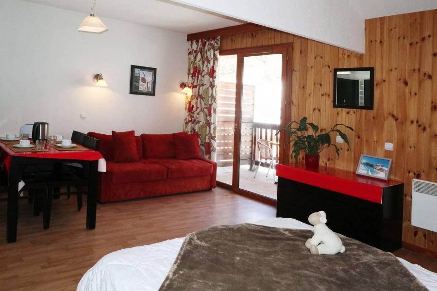 Vacances en montagne Studio 4 personnes (1010) - Résidence la Combe d'Or - Les Orres - Canapé-lit