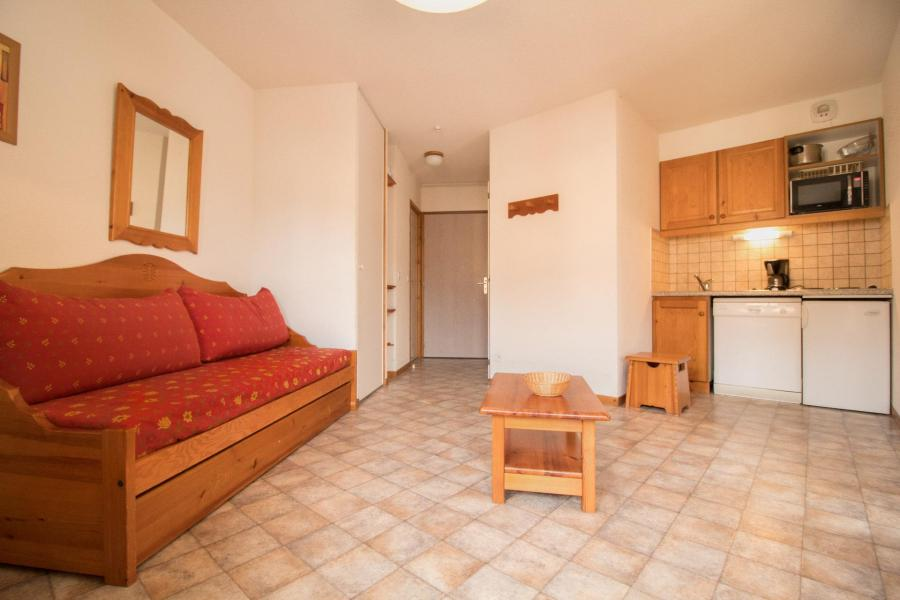 Vakantie in de bergen Appartement 2 kamers 4 personen (306) - Résidence la Combe II - Aussois - Bedbank