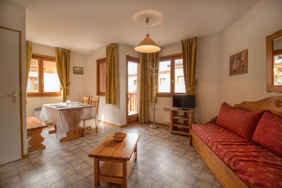 Vakantie in de bergen Appartement 2 kamers 4 personen (306) - Résidence la Combe II - Aussois - Woonkamer