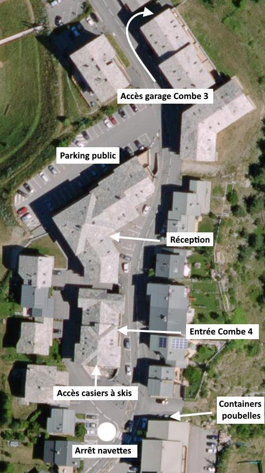 Vacances en montagne Appartement 3 pièces 6 personnes (517) - Résidence la Combe IV - Aussois