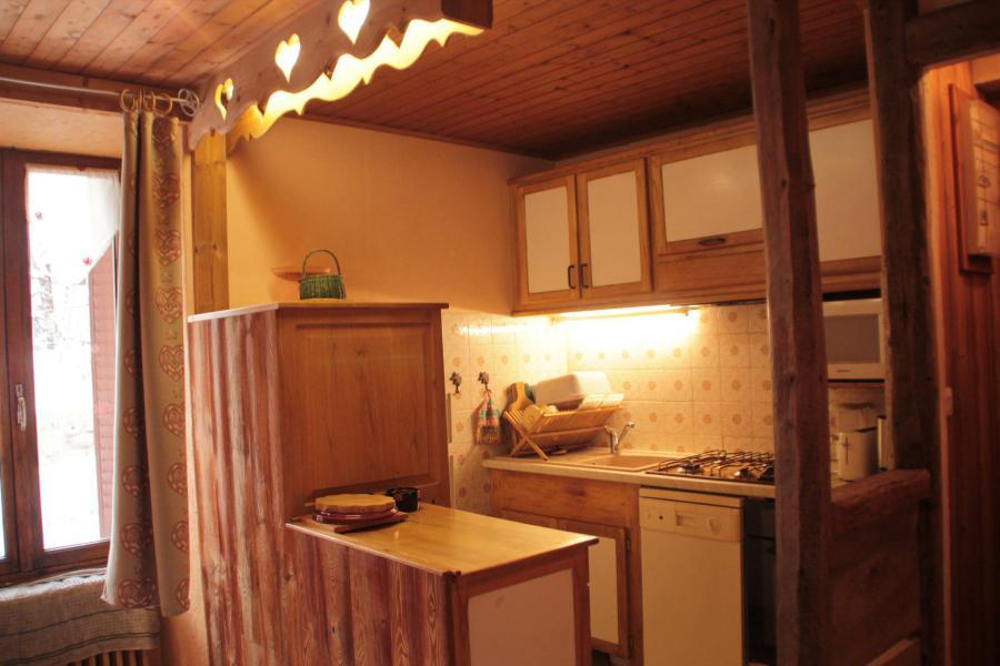 Wakacje w górach Apartament 4 pokojowy z antresolą 8 osób (1E) - Résidence la Cordée - Valloire